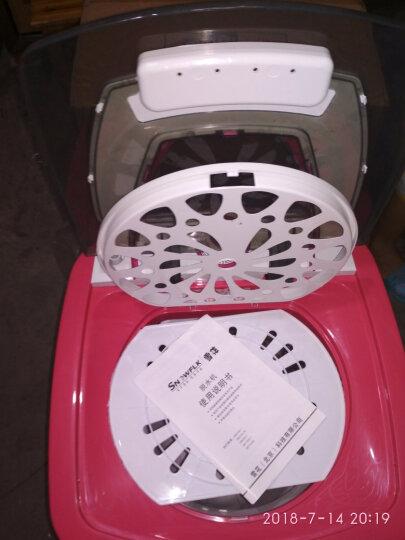 雪花 T98-128 9.8kg甩干桶 家用不锈钢甩干机 脱水机迷你干衣机 晒单图