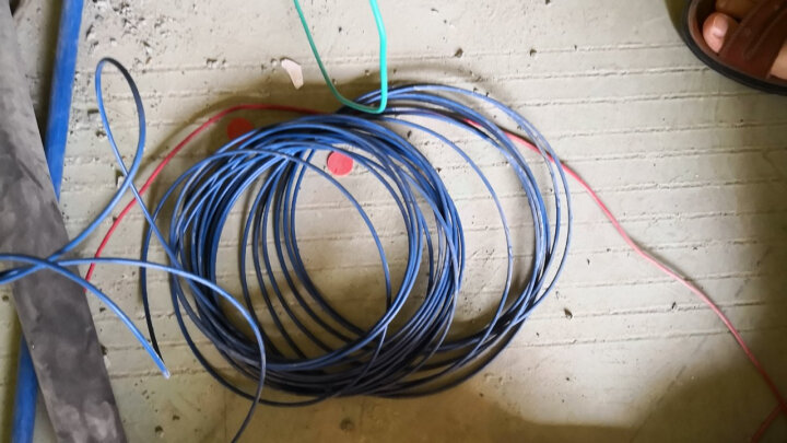 上上电线电缆 ZA-BV4平方100米单芯硬线企标单股铜芯A级阻燃家装空调热水器 双色地线100米 晒单图