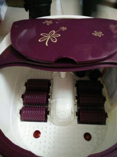 皇威(huang wei) H-122B足浴盆 加热洗脚盆  按摩足浴器 紫色 晒单图