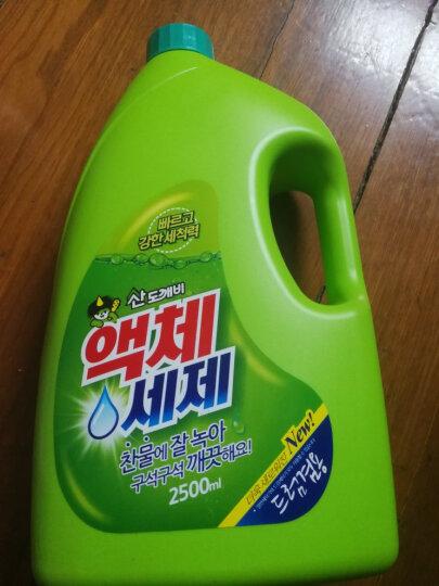 山精灵 (Sandokkaebi)韩国原装进口洗衣液2500ml 强渗透快速去渍无残留低泡 晒单图