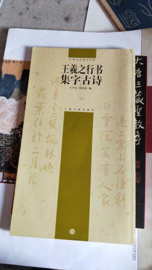 王羲之行书集字古诗 晒单图