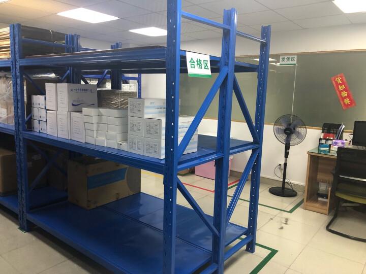 中伟中型仓储货架三层架展示架仓库架200kg每层 晒单图