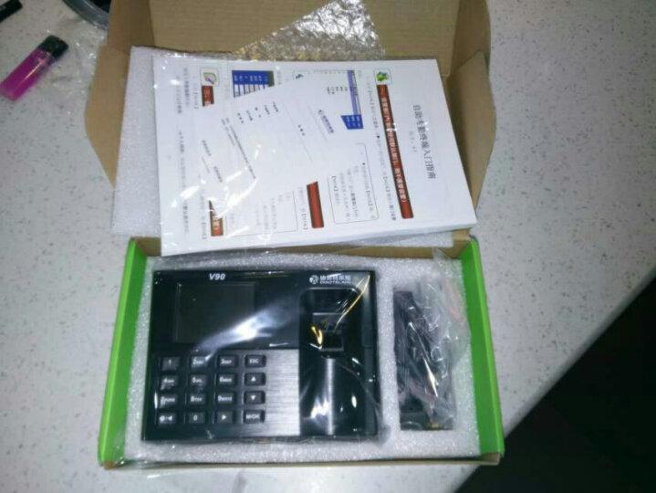 迪奥特莱斯 指纹考勤机V90自动报表打卡机指纹式上班考勤机指纹机签到机打卡器免软件 V90考勤机一台+专用U盘一个 晒单图