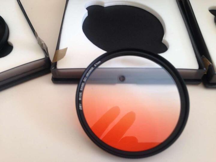 缔造者(DIZA) 缔造者超薄圆形渐变镜 特效滤镜  单反配件49/52/55/58/67/77mm 超值四色套装 67mm 晒单图