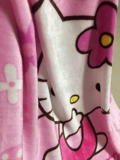 锦绣万家 珊瑚绒婴儿毯子宝宝空调毛巾被毯办公室午睡盖毯 儿童单层卡通法兰绒毛毯法莱绒毛毯子 吹泡泡海宝 100*140cm 晒单图