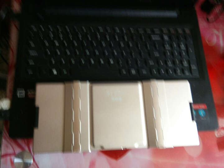 B.O.W 航世 HB099 折叠蓝牙无线键盘 笔记本有线家用办公游戏迷你小键盘背光 白色键盘 晒单图