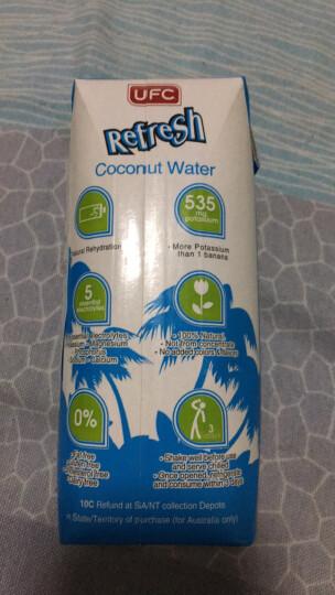 泰国原装进口 UFC 西瓜味天然椰子水果汁饮料500ml*12瓶 整箱 晒单图