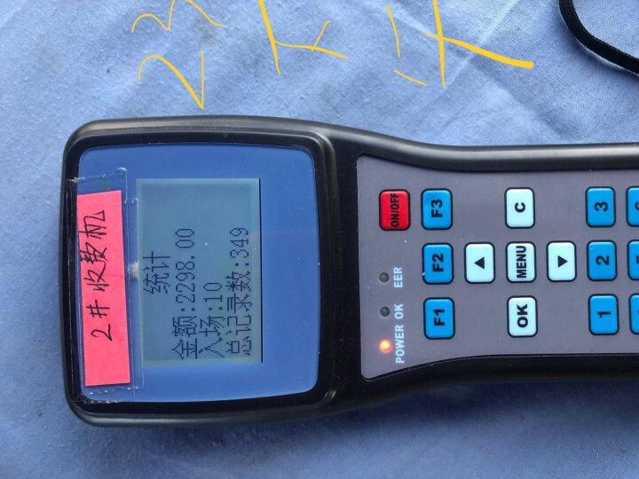 中创微 JS980Y手持计时消费机会员停车场计时收费打卡机  手持移动收费机 计时打卡机 全套(单台+读写器+80张标准彩卡) 晒单图