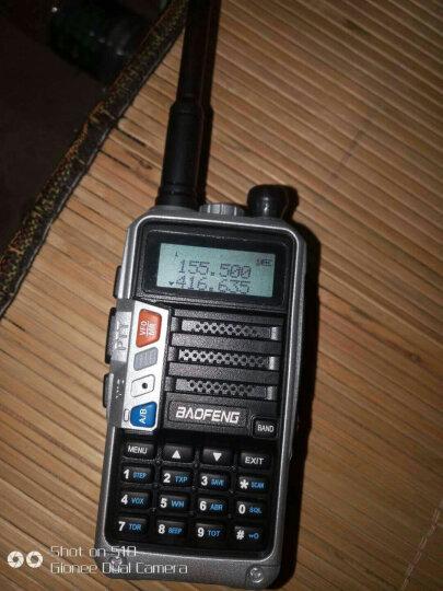 宝锋(BAOFENG) 【送5种配件】对讲机UV-5R迷你型器峰手台1-10公里无线50功率8W5W 致远版白色标配 晒单图