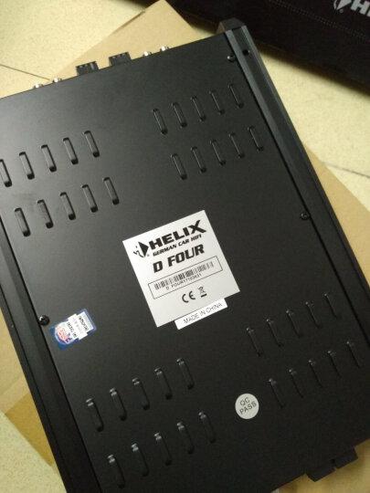 HELIX德国喜力仕汽车功放块板12V发烧专业级车载四路4声道汽车音响喇叭套装改装 晒单图