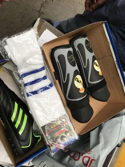 ShenXin 足球鞋男鞋平底碎钉TF猎鹰14代梅西 C罗皇马恒大人工草地室内 黑色 42 晒单图