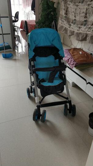 hd小龙哈彼 婴儿推车可坐可躺轻便可折叠避震宝宝儿童手推伞车 铝合金车架 蓝色LD369L-T212 晒单图