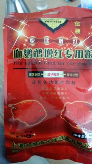 大拇指鱼粮血鹦鹉增红鱼饲料金鱼热带鱼发财鱼罗汉鱼食粮 热带鱼粮25g*5(袋装) 晒单图