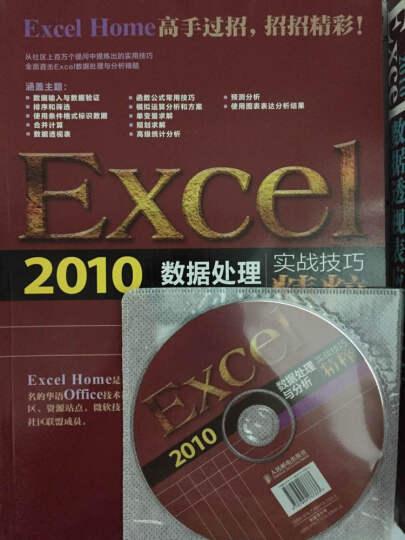 Excel 2010数据处理与分析实战技巧精粹 晒单图