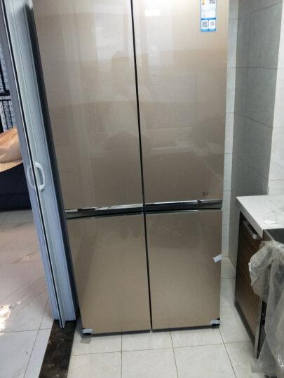 【品牌直营】咨询客服有优惠 美的(Midea) 冰箱530升十字对开家用  BCD-530WGPZV 晒单图