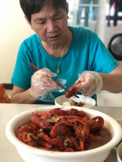 今锦上 十三香小龙虾 1.5kg 4-6中号25-33只 净虾750g 海鲜水产 晒单图