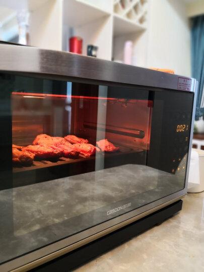 凯度(CASDON) 蒸烤箱家用台式电蒸箱 电蒸炉蒸烤二合一取代微波炉烤箱一体机蒸汽炉 A6 晒单图
