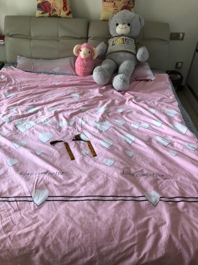 可爱仿真小绵羊公仔玩偶毛绒玩具布娃娃空调毯子被子抱枕三合一女生儿童生日礼物懒人 粉红色 40cm公仔 晒单图
