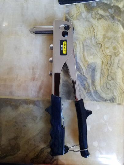 史丹利(STANLEY)订制双柄轻型/重型拉铆枪  轻型拉铆枪 3铆钉  69-646-22 晒单图