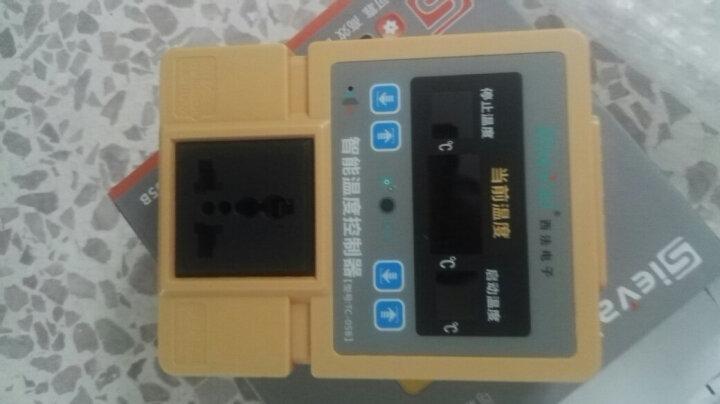 西法TC-05B地暖温控器高精度数显温控仪智能温度控制器大棚温控开关插座配防水探头 TC-05B温控器(配1米探头) 晒单图