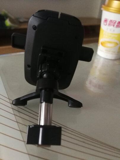 COBAO 车载手机支架 汽车用出风口支架 360度多功能手机导航支架 车上车用支撑架 出风口+吸盘 黑色 晒单图