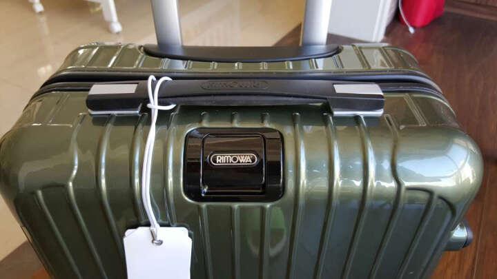 RIMOWA 20寸登机箱拉杆箱 SALSA DELUXE系列限量版橄榄绿 830.90.00.2 晒单图