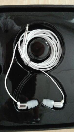 英创EP-H260 入耳式耳机/耳塞 专业喊麦K歌录音设备YY主播专用电脑使用 银色 晒单图