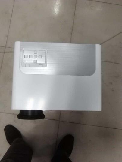 轰天炮投影仪LED-86+ 智能家庭影院  办公投影仪家用   高清投影机 白色86+标配版套餐三 晒单图