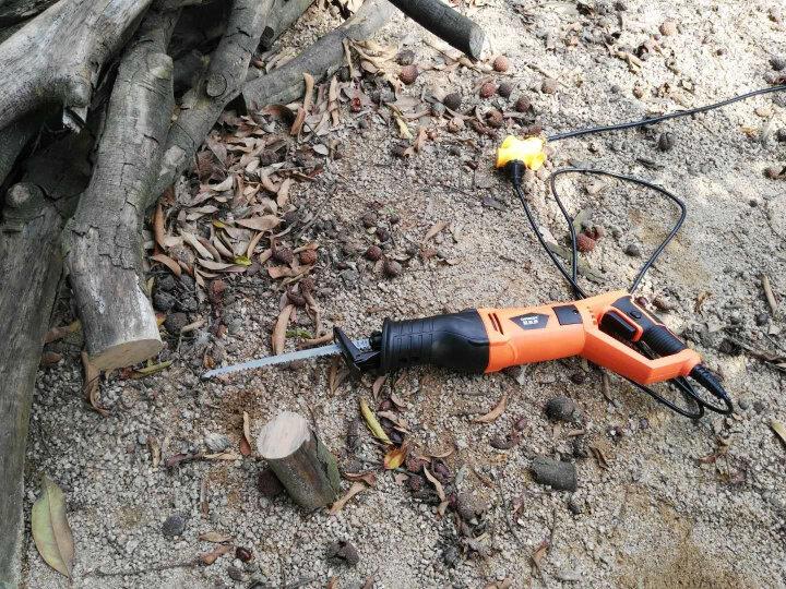 欧莱德往复锯马刀锯曲线锯 家用多功能木工电锯手提锯金属切割机 迷你小型切肉骨机 专业级往复锯豪华套 晒单图