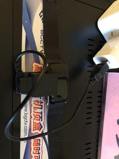 EHP 智能手环运动测心率血压蓝牙计步器男女通用睡眠监测oppo蓝牙手表适用vivo苹果三星小米手机 黑色 晒单图