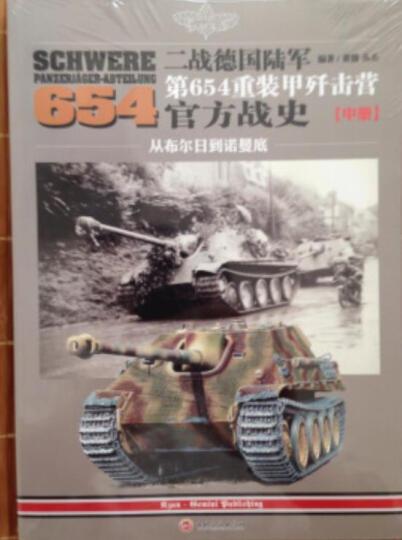 二战德国陆军第654重装甲歼击营官方战史(下册):从阿尔萨斯到莱茵河 晒单图