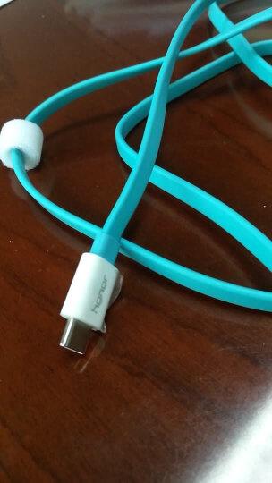 华为原装数据线P9Plus安卓Type-c二合一荣耀V8V9Note8麦芒5Nova2s3e充电器线 【快充】Type-C数据线 1.5米蓝色加宽 晒单图
