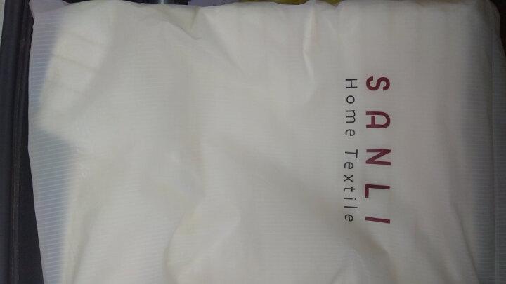 三利 纯棉加厚毛圈吸水地巾 浴室防滑脚垫 50×72cm 米色 晒单图