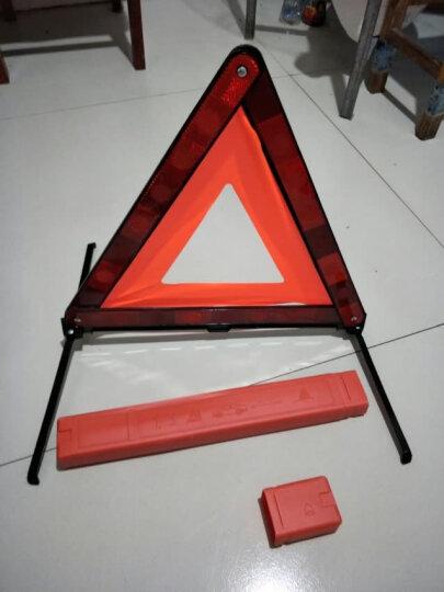 迪斯沃 汽车三角架警示牌 车用三脚架警示牌 反光三角牌 车载停车牌 折叠危险牌 故障标志 国标款+(普通款手机支架) 有 晒单图