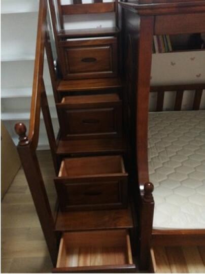 潮社(CHAOSHE) 美式高低床上下床成人双层床全实木床桃花心木高低床组合美式家具26 高低床 双层床预付定金(拍下不退) 晒单图