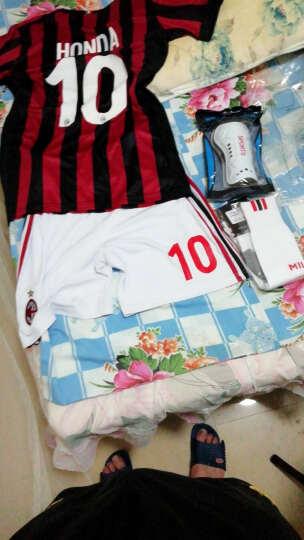 (买一送二)AC米兰球衣17-18赛季主场短袖足球服套装成人足球定制巴卡男 成人16号波利 成人73号洛卡特利送赠品 XL 晒单图