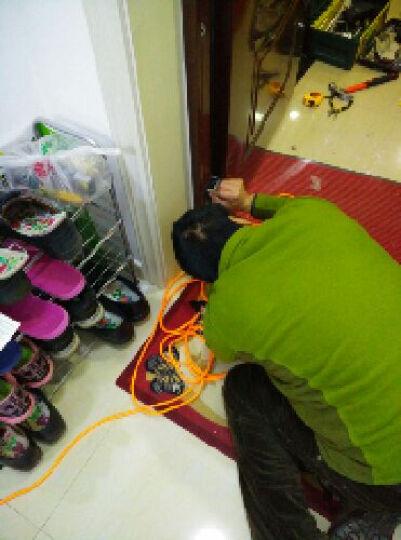 凯迪仕(KAADAS) 凯迪仕 指纹锁密码锁智能锁电子锁家用防盗门锁 9113 青古铜双开门 晒单图