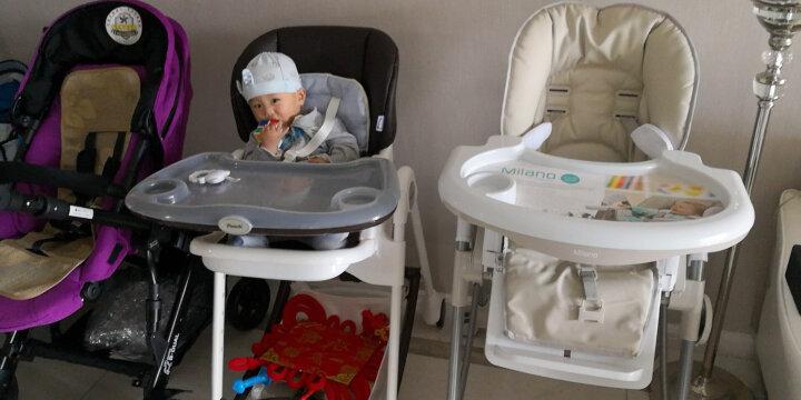 britax宝得适/百代适 高景观婴儿手推车 双向推车 手推车 双子星 紫色 晒单图