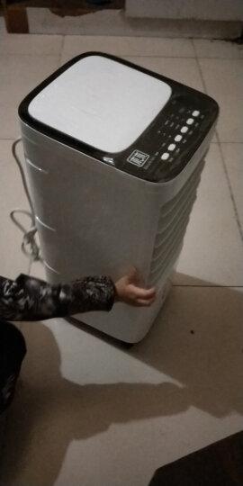迷你空调扇冷风扇加湿制冷机 学生宿舍便携式小空调制冷电风扇冷气扇微型小型空调家用办公室无叶无扇叶风扇 YS45机械款/黑色 晒单图