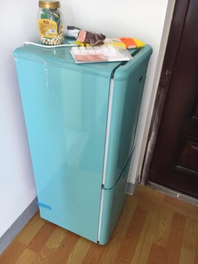 星星(XINGX) 彩色 复古 家用商用  冰箱 388升香槟金冰箱(上冷藏下冷冻) 晒单图