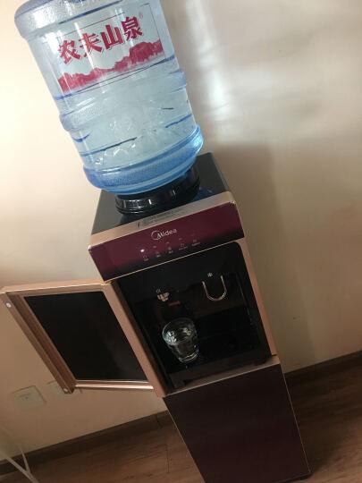 美的(Midea) 制冷饮水机 立式冷热型 防爆精钢芯8秒速热型饮水机 YD1515S-X 晒单图