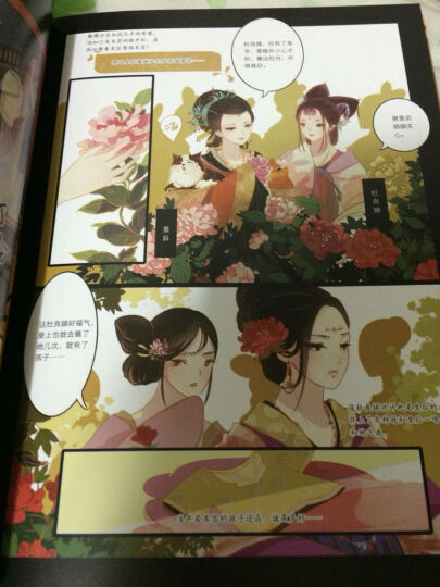 知音漫客丛书·绘心坊系列:甄嬛传(叙花列1) 晒单图