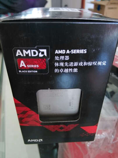 AMD APU系列 A8-7650K 四核 R7核显 FM2+接口 盒装CPU处理器 晒单图
