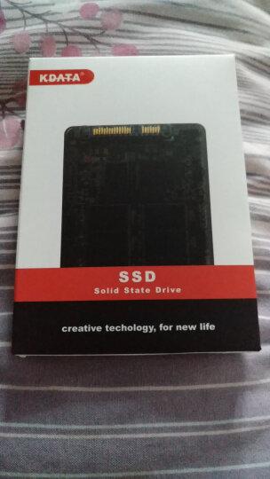 KDATA 金田60G120G240G32G SSD固态硬盘SATA3笔记本台式机电子硬盘 非64G 60G+台式机金属支架+数据线 晒单图