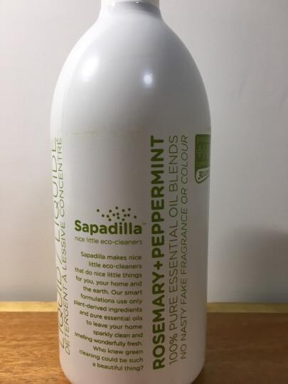 萨帕帝雅(sapadilla)加拿大进口植物精油超浓缩洗衣液(迷迭香+薄荷) 晒单图
