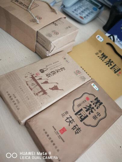 中粮中茶牌 湖南安化黑茶 金花茯砖茶800g 2013年 晒单图