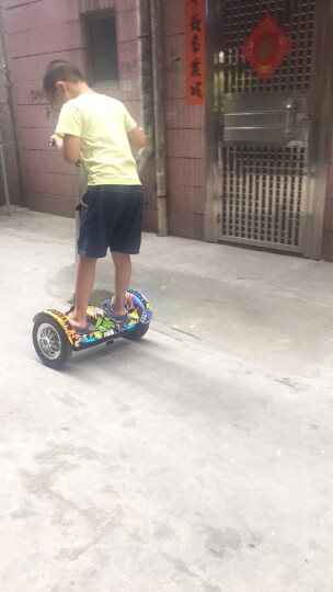 电动平衡车两轮成人自平衡10寸代步车儿童迷你智能思维体感车漂移车双轮扶手 Mini 时尚款(标准续航+手腿双控)时尚白 晒单图