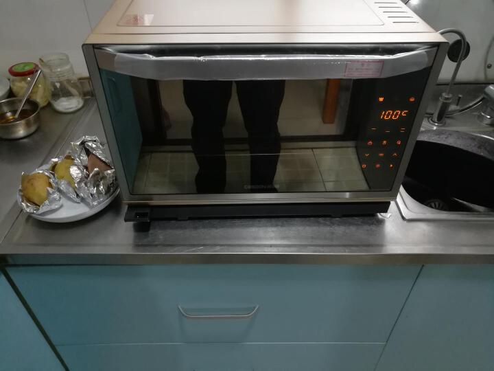 凯度(CASDON) 电蒸箱台式电蒸炉蒸烤箱二合一微波炉烤箱一体机 ST28S-A6 香槟金 晒单图