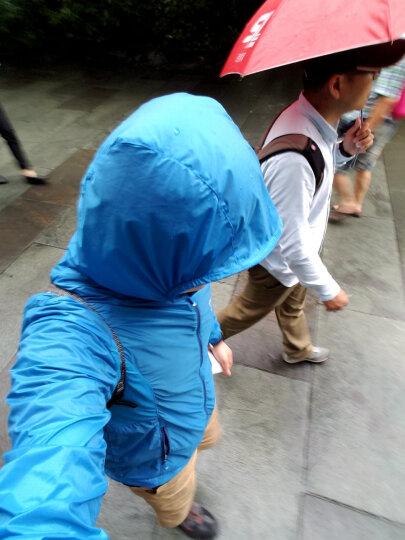 ALPINT MOUNTAIN 埃尔蒙特 户外防晒衣男女UPF40+ 皮肤衣防紫外线风衣透气 男款海蓝 L 晒单图
