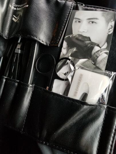 极男 【送视频教程】男士眉笔套装 防水防汗不晕染修眉刀套装双头造型眉笔棕色黑色眉粉眉卡眉夹初学者试用 黑色眉笔套装+BB霜+卸妆水+遮瑕膏--自然色 晒单图